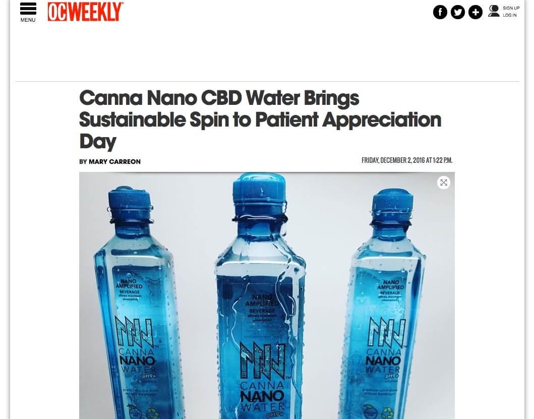 Canna Nano OC Weekly